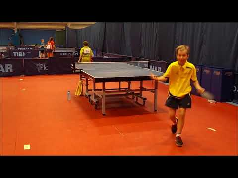 TABLE TENNIS BOY 10 YEARS