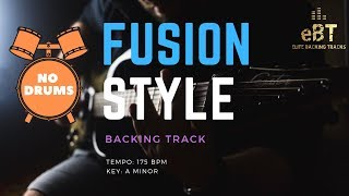 FUSION BACKING TRACK IN A MINOR! [NO DRUMS]
