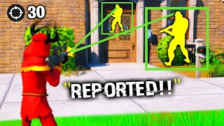 I Pretended To Use HACKS In Chapter 2.. (Fortnite)