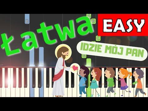 🎹 Idzie mój Pan - Piano Tutorial (łatwa wersja) 🎹