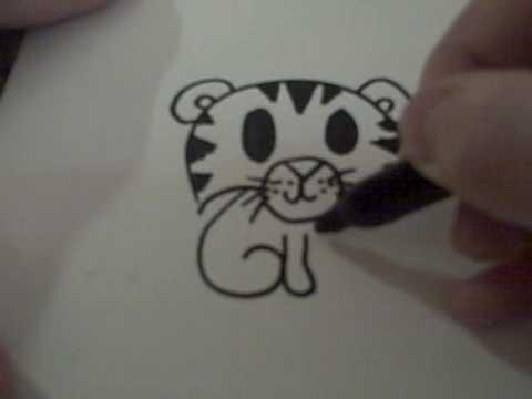 cute walrus drawing