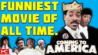 Coming to America (1988) - Movie Review - Funniest Movie of All Time?