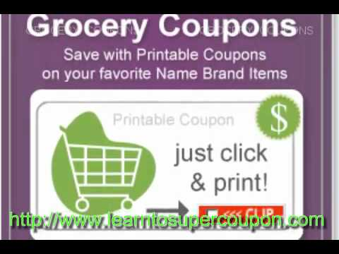 Healthy Eating with Printable Grocery Coupons