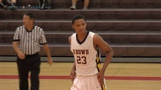 # 23 Ivan Rabb '15, Bishop O'Dowd Junior, 2013 UA Holiday Classic at Torrey Pines