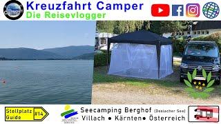 Seecamping Berghof (Ossiacher See) * Villach * Kärnten * Österreich - Stellplatz Guide #14