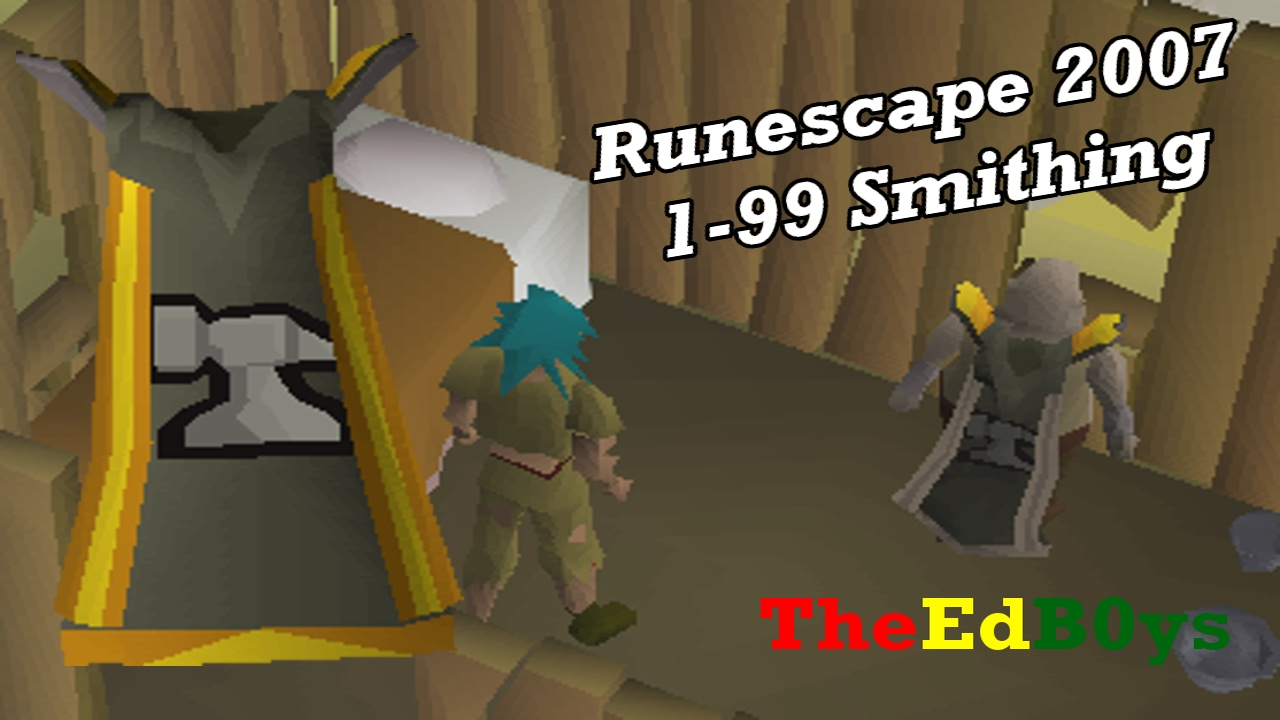 1-99 smithing guide osrs f2p.