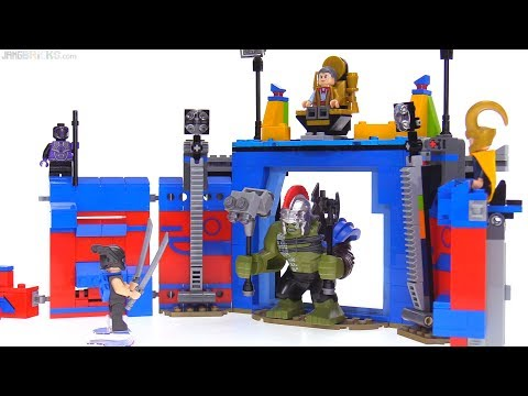 LEGO Thor vs. Hulk Arena Clash set review! Thor: Ragnarok set 76088