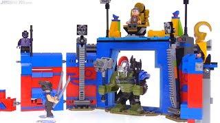 LEGO Thor vs. Hulk Arena Clash set review! Thor: Ragnarok set 76088