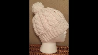Beginner Crochet Cable Hat