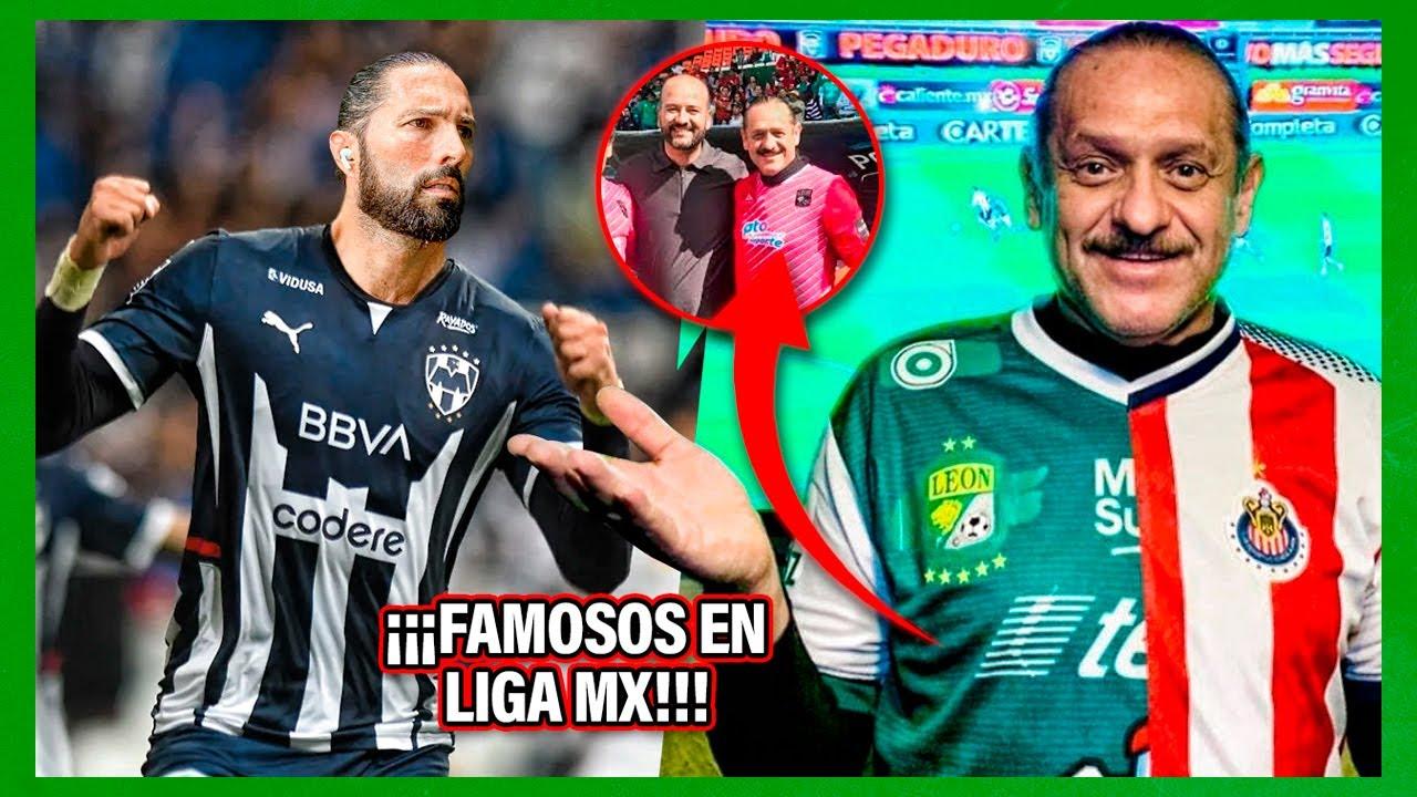 8 FAMOSOS que jugaron en equipos de la LigaMX ¡Y NO SABÍAS! El #3 se VOLVIÓ CRACK en otro deporte