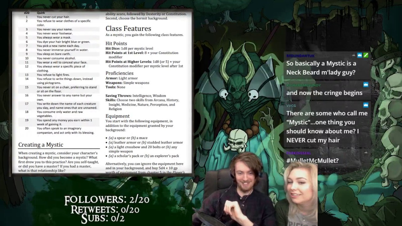 D&D5E) Unearthed Arcana: Reviewing Mystic & D&D Beyond Thoughts!