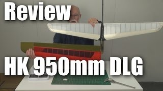 Review: HobbyKing 950mm DLG