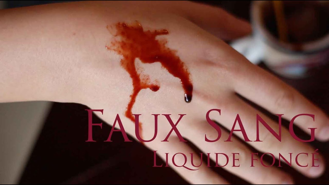 makeup sfx recette maison faux sang liquide fonc fake blood youtube. Black Bedroom Furniture Sets. Home Design Ideas