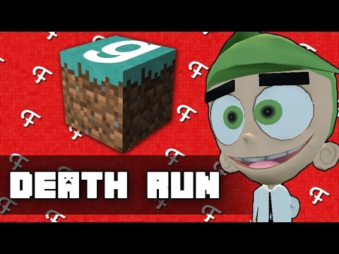 Gmod: Minecraft Edition! (Garrys Mod Deathrun - Comedy Gaming)