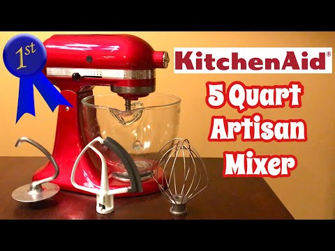 How To Choose The Best Mixer ~ Mixer Review I The KitchenAid Artisan Mixer Is The BEST!!!