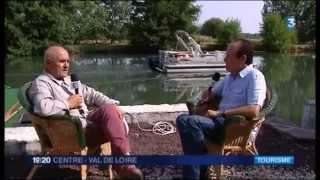 Claude Denis, président de l'office de tourisme de la Vallée du Loir
