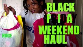 Black Friday Weekend Haul Thumbnail