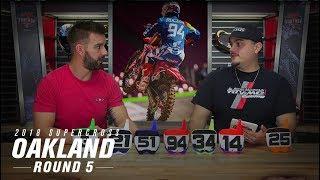 RMFantasy SXperts Round 5 | 2018 Oakland Supercross