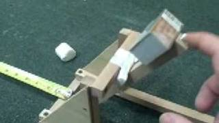 Test Firing A Catapult And Tips On Making Your Catapult Bett