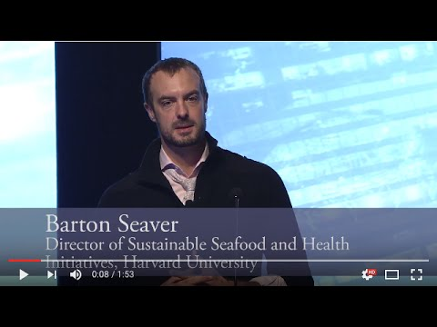 Barton Seaver on Seafood, Health and the Changing Landscape of Food