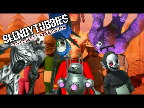 Slendytubbies Project Rebirth DEMO All Monsters