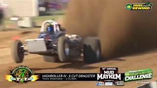 2019 Mud Mayhem Rewind Travis Shoemaker X and XX Dragster Runs