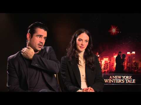 Colin Farrell and Jessica Brown Findlay: