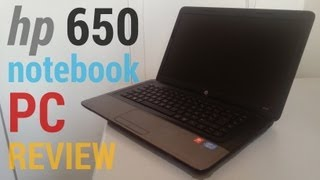 HP laptop - hp 650 notebook pc review [HD][REVIEW]