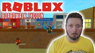 COMKEANS STRAND! - Roblox Boardwalk Tycoon Dansk Ep 1