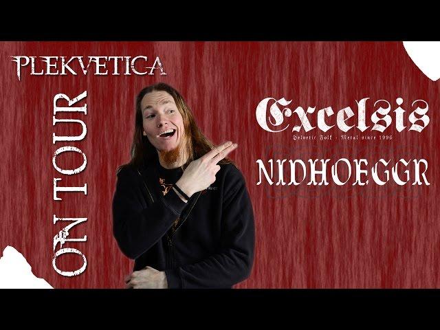 [ ON TOUR ] Excelsis - Nidhoeggr @ Das O, Spiez 19.06.2015 | Konzertbericht