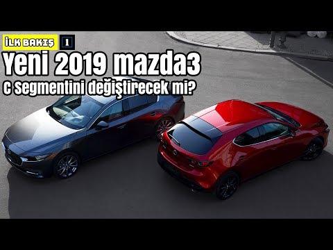 Yeni 2019 Mazda3 | C Segmentini Değiştirecek mi ? | İlk Bakış (English Subtitled)