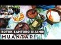 Lamtoro/Petai Selong Bakwan Jagung Sambel Tomat dan Ikan Peda! SEDAAAAAAAP!!!