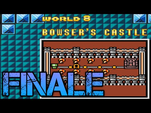 SMBX (Co-op) - Super Mario Bros. 3 Remastered Finale: Airship Atrocities