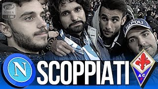 NAPOLI 0-0 FIORENTINA | SCOPPIATI! LIVE REACTION CURVA B HD