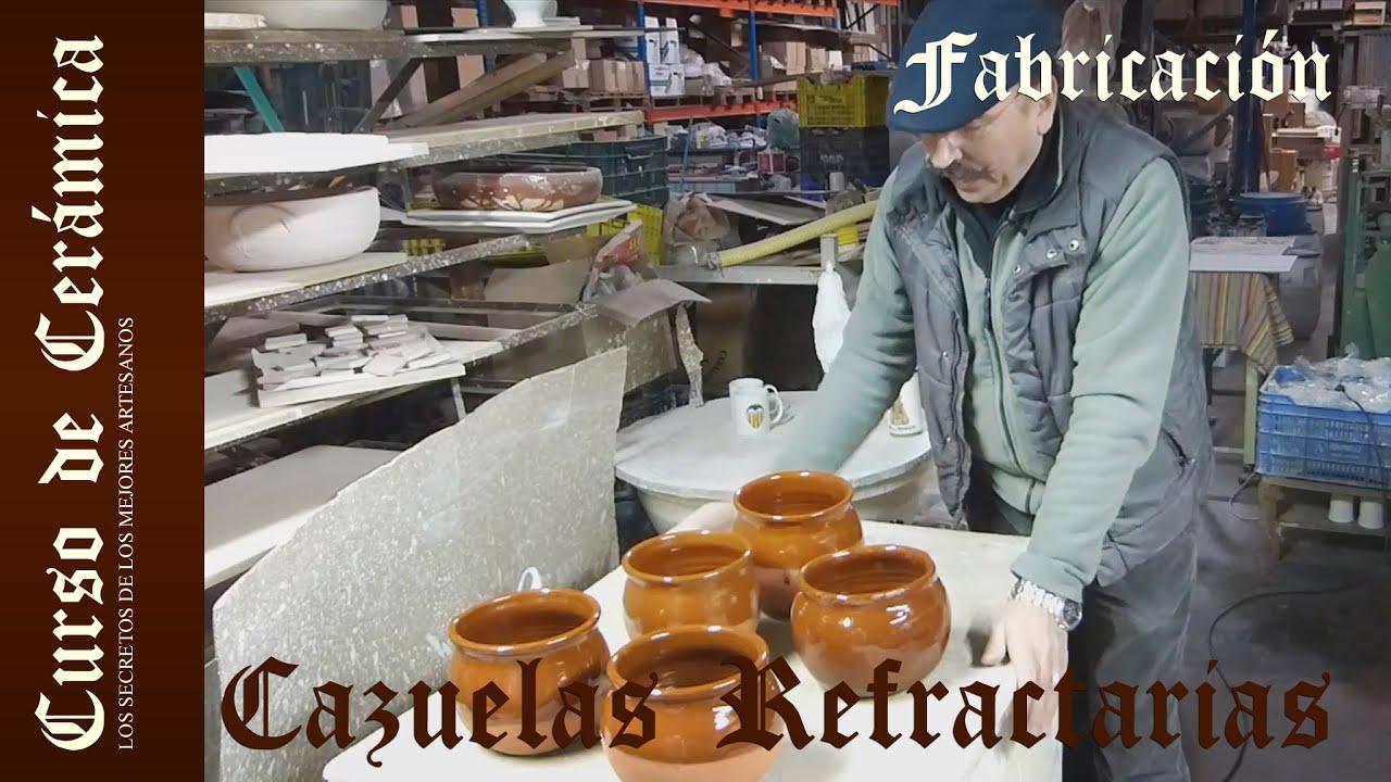 Curso de cer mica esmalte y cocci n de cazuela de barro for Ceramica fabricacion