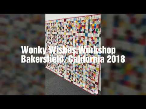 Wonky Wishes Workshop, Bakersfield CA 2018