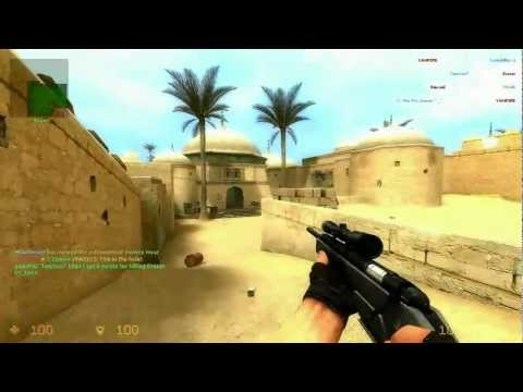 Counter-Strike Source : Headshots With Schmidt Scout Sniper