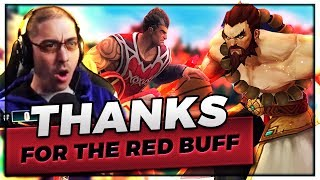 THANKS FOR THE RED BUFF! | UDYR TOPLANE VS DARIUS.. AND YI!  - Trick2G