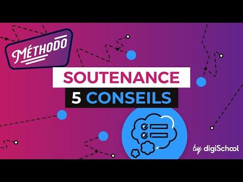 Réussir sa soutenance : 5 conseils - Méthodologie - digiSchool