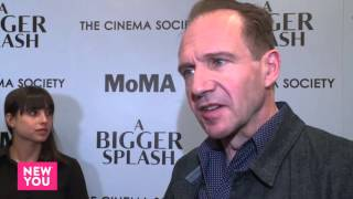 Ralph Fiennes at A Bigger Splash New York Premiere