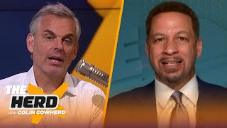 Chris Broussard talks Lakers/Clippers, Brad Stevens' future in Boston, Steph Curry | NBA | THE HERD