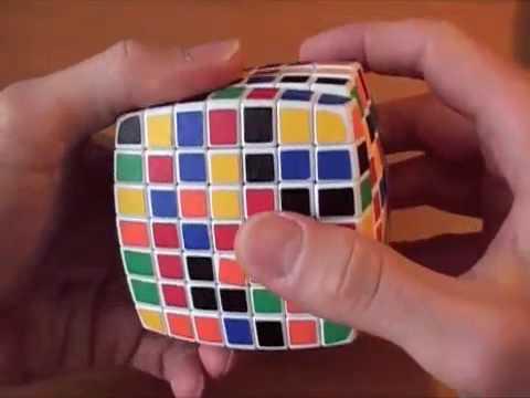 Как собрать кубик 7х7. ч.1/4 Первые 4 центра
