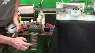 Cooking | Amsoil Vs. Cerma Oil using timken ok load test