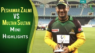 PSL 2018 Highlights | Multan Sultan Vs. Peshawar Zalmi