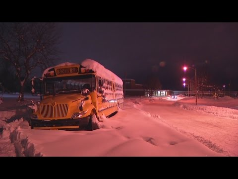 Some parents frustrated with West Seneca School District communication during snow storm