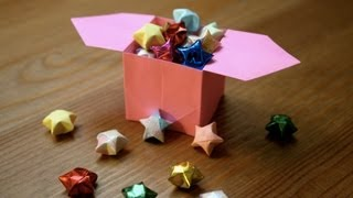 Origami tutorial - Chinese lucky star