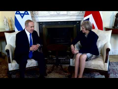 PM Netanyahu Meets British PM May