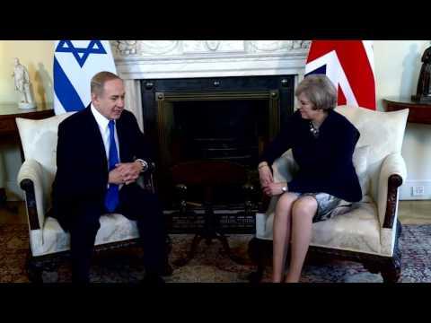 PM Netanyahu Meets British PM May