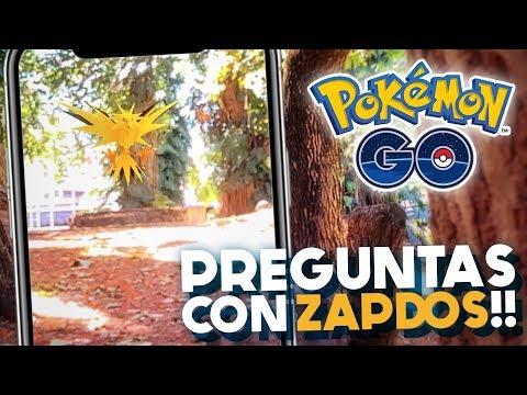 RESPONDIENDO PREGUNTAS CON ZAPDOS EN AR!! | 1026 | POKEMON GO thumbnail