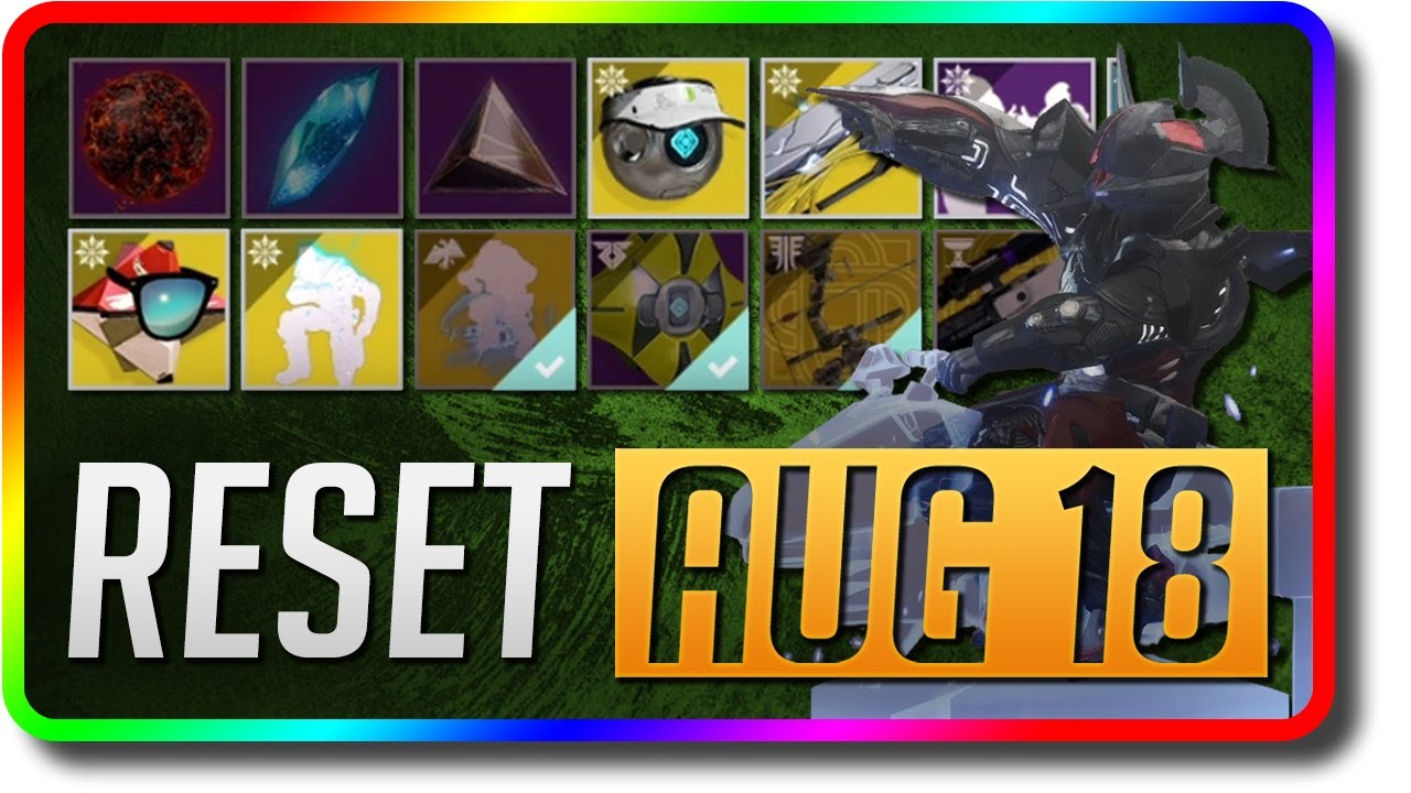 Destiny 2 - Solstice of Heroes Season Reset (August 18 ...